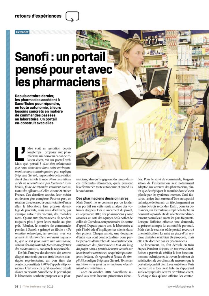 Article Sanofi