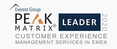 Leader in CMX in EMEA by Everest Group PEAK Matrix® Assessment 2020