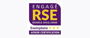 Engaged CSR Label AFNOR Certification France 2021